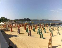 Portorož Strand – Karamela Bar Webcam Live