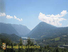 Arsiè Lago di Santa Croce Webcam Live