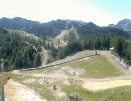 Bohinj: Skigebiet Vogel – Bergstation Webcam Live