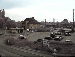 Boizenburg/Elbe – Bahnhofsvorplatz Webcam Live