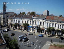 Kolomyja – Rathaus Webcam Live