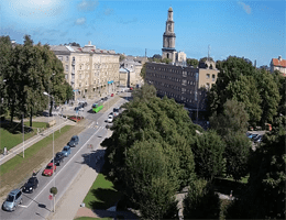 Liepāja – Rosenplatz Webcam Live