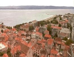 Omiš – Altstadt Panorama Webcam Live