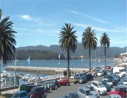 Ortigueira Hafenpromenade Webcam Live