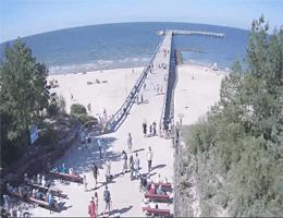 Palanga Palangos Tiltas Webcam Live