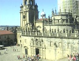 Santiago de Compostela Praza da Quintana Webcam Live