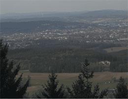 Sophienberg (Haag) – Blick auf Bayreuth Webcam Live