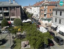Umag – Trgovačka Strasse Webcam Live