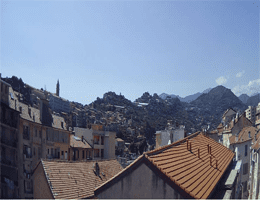 Ventimiglia Stadtblick Webcam Live