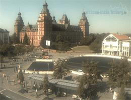 Aschaffenburg Schloss Johannisburg Webcam Live