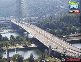 Belgrad: Bulevar Milutina Milankovića – Most na Adi Webcam Live