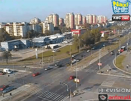 Belgrad – Jurija Gagarina Webcam Live