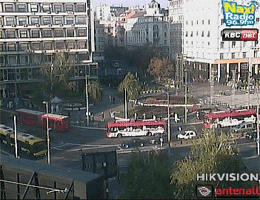 Belgrad Trg Republike Webcam Live