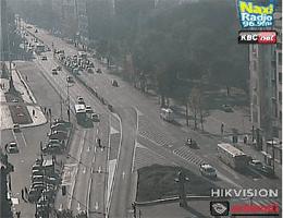 Belgrad Trg Nikole Pašića Webcam Live