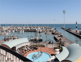 Cattolica – Hafenpanorama Webcam Live