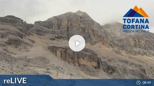 Cortina d'Ampezzo Ra Valles Webcam Live