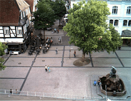 Detmold – Marktplatz Webcam Live