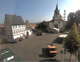 Großostheim – Marktplatz Webcam Live
