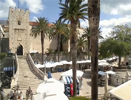 Korčula – Veliki Revelin Turm Webcam Live