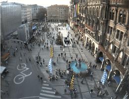 München Marienplatz Webcam Live
