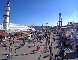 München: Oktoberfest – Riesenrad Webcam Live