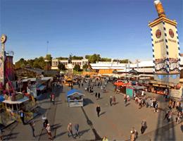 München: Oktoberfest – Bavaria Webcam Live