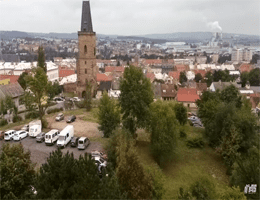 Rakovník – Stadtpanorama Webcam Live