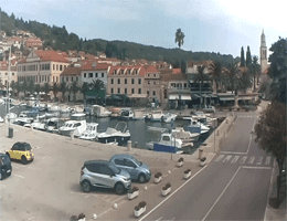 Vela Luka – Zentrum Webcam Live