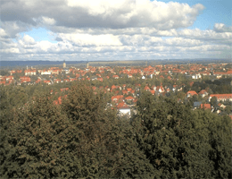 Halberstadt – Panoramablick Webcam Live