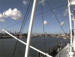 Hamburg – Museumsschiff Cap San Diego Webcam Live