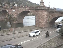 Heidelberg Alte Brücke Webcam Live