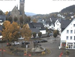 Lennestadt Rathausplatz Webcam Live