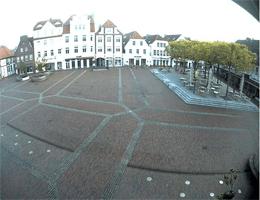 Lingen (Ems) – Marktplatz und Terrasse Webcam Live