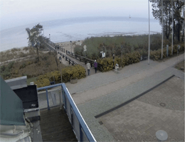 Lubmin: Seebrücke – Lubminer Strand Webcam Live