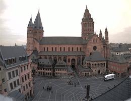 Mainz – Mainzer Dom und Markt Webcam Live