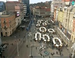 Zagreb – Ban-Jelačić-Platz Webcam Live