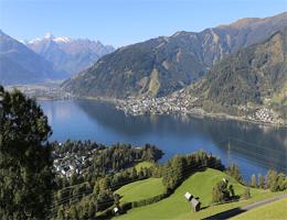 Zell am See-Kaprun Panorama Webcam Live