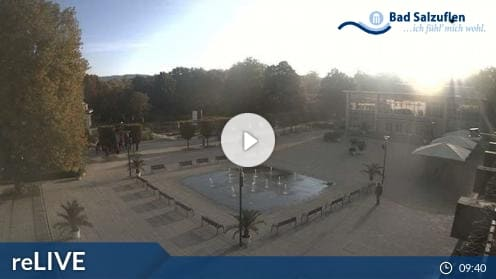 Bad Salzuflen – Kurparkhaupteingang Webcam Live