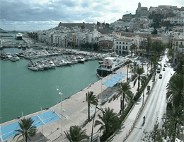 Ibiza-Stadt – Ibiza Hafen Webcam Live
