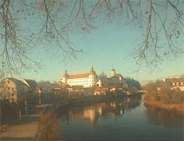 Neuburg an der Donau Schloss Neuburg Webcam Live