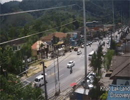 Khao Lak Zentrum Webcam Live
