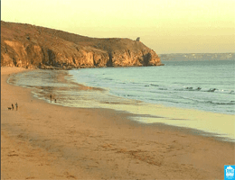 Penzance – Praa Sands Beach Webcam Live