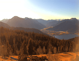 Tegernsee – Bergpanorama Webcam Live
