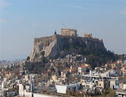 Athen Akropolis mit Parthenon Webcam Live