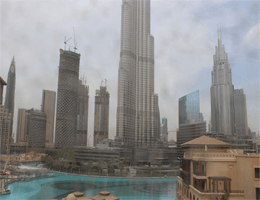 Dubai – The Palace Downtown Dubai Webcam Live