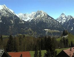 Oberstdorf Hotel Bergruh Webcam Live