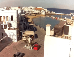 Mykonos – Alter Hafen Webcam Live