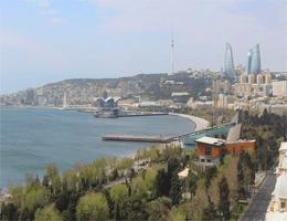 Baku Stadtblick Webcam Live