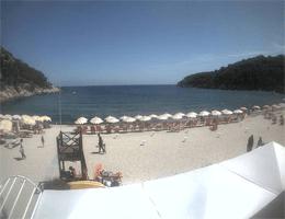 Fetovaia (Elba) – Strandblick Webcam Live