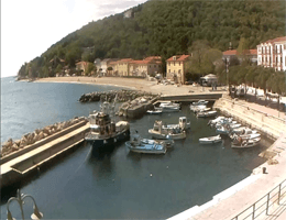 Mošćenička Draga – Hafen Webcam Live